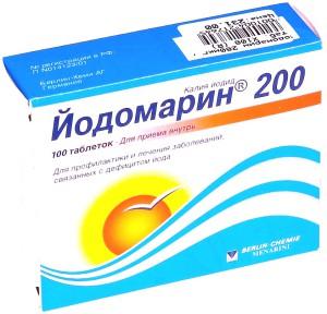 Йодомарин 200 при планировании беременности.